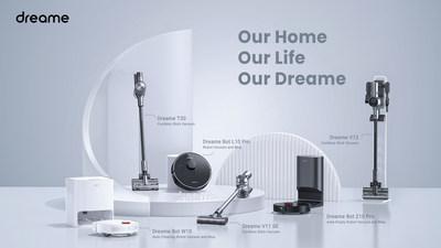 Dreame lanza la próxima generación de productos de limpieza para el hogar inteligente el 8 de mayo