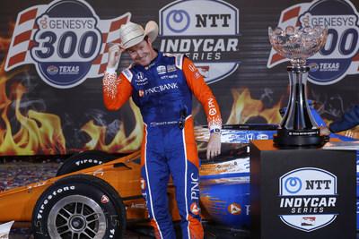Dixon domina en Texas y se hace con la tercera victoria consecutiva de Honda