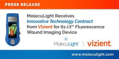 MolecuLight recibe un contrato innovador de tecnología de Vizient