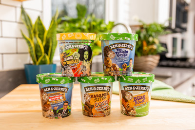 Ben & Jerry's Tops Non-Dairy Category, Releases Five New Flavors