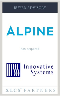 XLCS Partners advises Alpine Investors in its acquisition of Innovative Systems