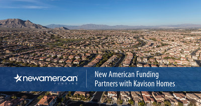 New American Funding Partners with Kavison Homes