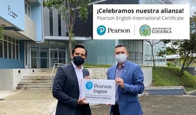 Realizan alianza Pearson y la Universidad de Costa Rica para la certificación del dominio del idioma Inglés