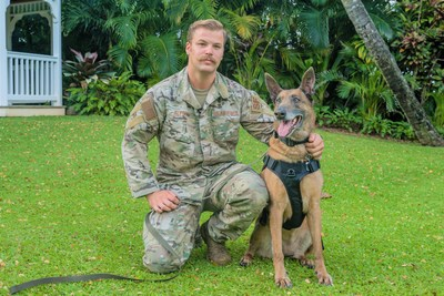 Settling in the Sun: American Humane Reunites Retired Military Working Dog with Former Handler
