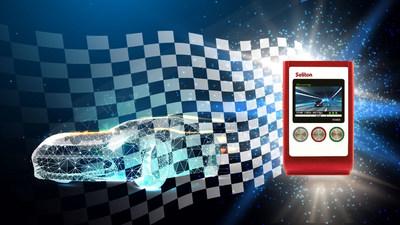 Soliton Systems y 5G Hub se unen para demostrar el control remoto de un coche de carreras a través de 5G