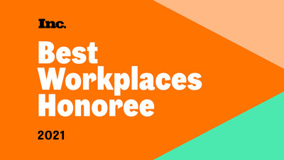 Lirio Recognized by Inc. Magazine's Best Workplaces Of 2021