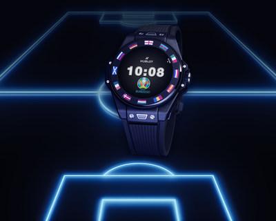 Hublot lanza su primer NFT con el reloj Big Bang e de la UEFA EURO 2020™