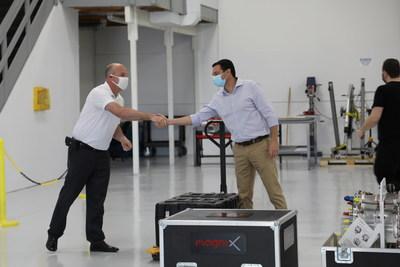 Primer vuelo a la vista: Eviation recibe la primera unidad de propulsión eléctrica magniX