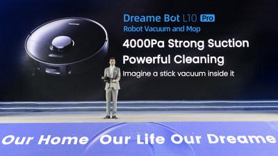 Dreame Technology lanza nuevos electrodomésticos inteligentes para la limpieza del hogar