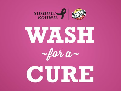ZIPS Car Wash and Susan G. Komen® Partner Again to Wash for a Cure