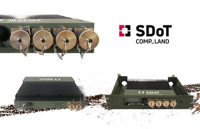 INFODAS lanza una solución táctica de dominio cruzado COMP-LAND para una conectividad de alta seguridad en entornos extremos