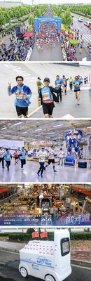 GWM alberga un maratón en la fábrica inteligente para mostrar su encanto científico