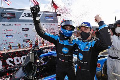 Acura logra su cuarta victoria consecutiva en Mid-Ohio