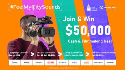 Hollyland Technology invita a los creadores a explorar la singularidad de su ciudad con #FeelMyCitySounds