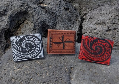 N? KOA Leather Launches New Wallets with Tattoo Art by Award-Winning Polynesian Tattoo Artists