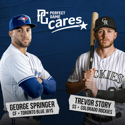 Major Leaguers George Springer & Trevor Story Provide $150,000 Joint Contribution to Perfect Game Cares Foundation's