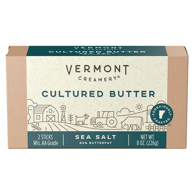 Vermont Creamery's Sea Salt Cultured Butter Wins sofi Gold from Specialty Food Association