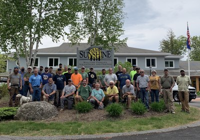 Maine Cabin Masters + Landry/French Construction Replace 68 Windows at Camp Sunshine