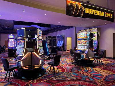 Aristocrat Gaming™ and Gold Strike Casino Resort Launch Mid-South's First Gaming Floor 'Buffalo Zone™'