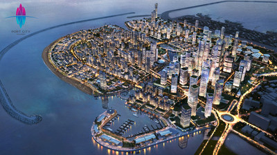 Port City Colombo se convertirá en una puerta de entrada al sur de Asia