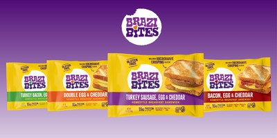 Brazi Bites Makes Mornings Toasty with New Latin-Inspired Homestyle Breakfast Sandwiches