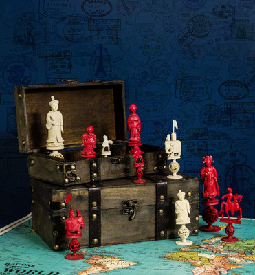 New World Chess Hall of Fame Exhibitions Celebrate Chess Prodigies, Chess from Around the World and Food and Drink-Themed Sets