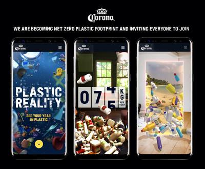 Corona consigue una huella neta de plástico cero en todo el mundo