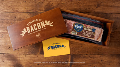 Celebrating Five Years Of Love? Forego Traditional Wood Gifts with the Wright® Brand #AnniversaryBacon Program