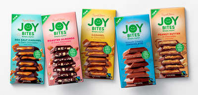 Russell Stover Introduces 'Joy Bites', the Brand's First No Sugar Added Assortment of Chocolate Bars