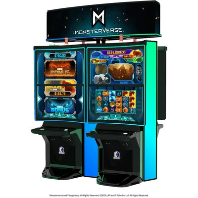 Everi Launches New Monsterverse Wide-area Progressive, Featuring Kong and Godzilla, at San Manuel Casino