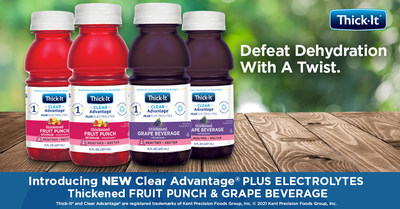 Thick-It® Brand Launches Clear Advantage® Plus Electrolytes Thickened Beverages