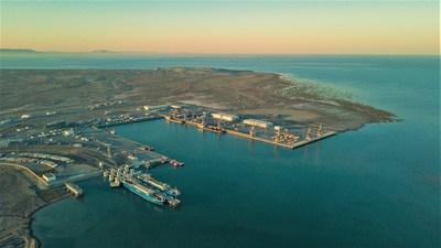 El puerto de Bakú comienza la construcción de una terminal estratégica de fertilizantes en Alat