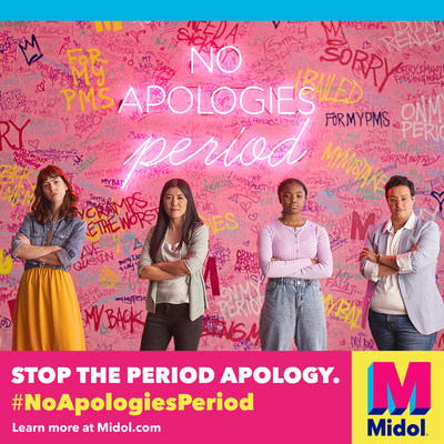 Midol® Launches Initiative to Help Women Stop Apologizing. Period.