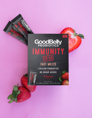 GoodBelly Launches Fast Melts Perfect for On-the-Go Immune System and Digestion Support