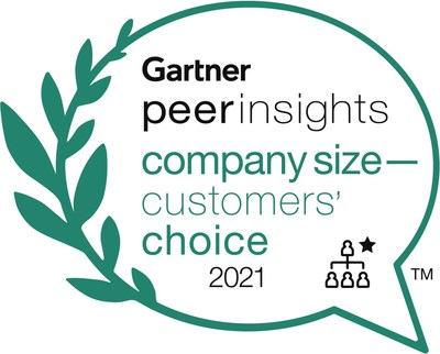 ADP Recognized as a Customers' Choice in 2021 Gartner Peer Insights 'Voice of the Customer': Cloud HCM Suites for 1,000+ Employee Enterprises