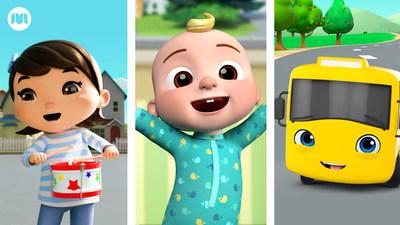 Los populares programas infantiles de Moonbug Entertainment llegan a la BBC