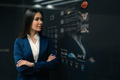 TK Elevator lanza AGILE Mirror, la interfaz multimedia 4K para ascensores que transforma el viaje en una experiencia sorprendente