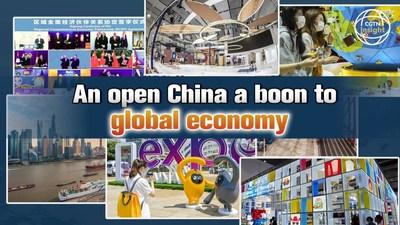 CGTN: una China abierta beneficia a la economía global
