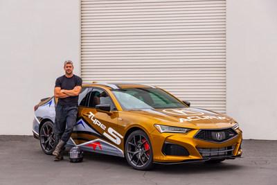 El TLX del Tipo S 2021 será el protagonista de la 99a edición del Pikes Peak International Hill Climb, conducido por el loco de los coches y personalidad de la televisión Ant Anstead