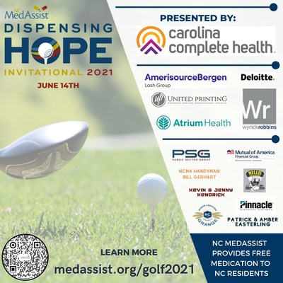 NC MedAssist Hosts Inaugural Golf Tournament to Support Under-Resourced Patients with Free Prescription Medication