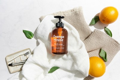 Orange House™ Announces Official U.S. Launch - Cleaning Products Featuring Nature's Degreasing and Cleansing Super Hero: Cold-Pressed and Environmentally Sustainable Orange Oil