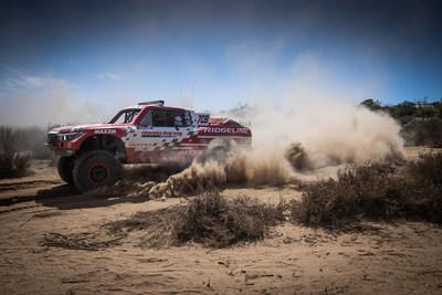 El Honda Ridgeline Baja Race Truck gana de nuevo en Baja 500