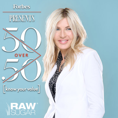 Raw Sugar Living Co-Founder and CMO, Donda Mullis Named to Forbes 50 Over 50 List