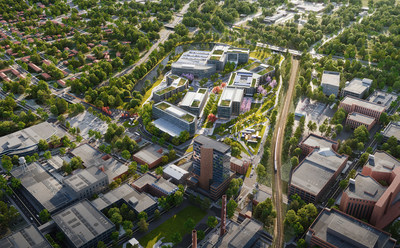 Innovation Quarter announces master plan for phase II of innovation district development in Winston-Salem, NC