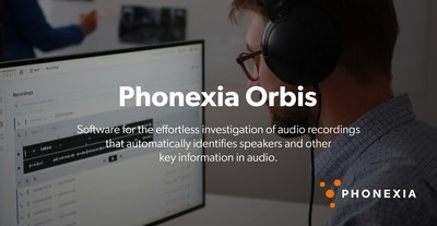 Phonexia presenta Phonexia Orbis, una innovadora solución de investigación de audio para cuerpos policiales