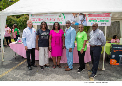 Alpha Kappa Alpha Two-Day Mississippi Health Project Vaccinates Hundreds Against COVID-19 in Mound Bayou and Greenville