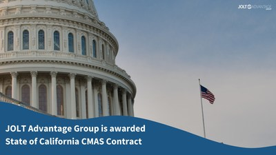 JOLT Advantage Group is Awarded State of California CMAS Contract to Help Agencies in the State of California Accelerate their Digital Transformation
