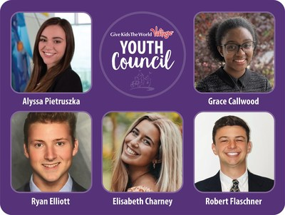 Young Leaders Named to National Give Kids The World Youth Council