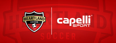 Capelli Sport Becomes the Official and Exclusive Uniform and Equipment Provider of Heartland Soccer