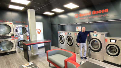 Abre en Francia la tienda de lavandería automática número 800 de la marca Speed Queen